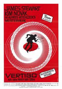 Vertigo - 11 x 17 Movie Poster - German Style A