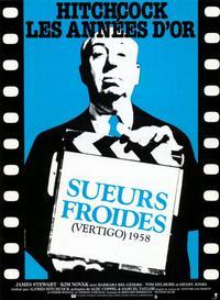 Vertigo - 11 x 17 Movie Poster - Belgian Style A
