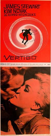 Vertigo - 14 x 36 Movie Poster - Insert Style A
