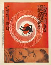 Vertigo - 11 x 14 Movie Poster - Style N