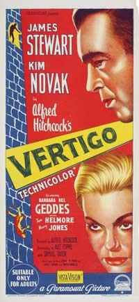 Vertigo - 11 x 17 Movie Poster - Australian Style A