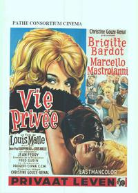 A Very Private Affair - 14 x 22 Movie Poster - Belgian Style A