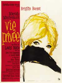 A Very Private Affair - 27 x 40 Movie Poster - French Style A