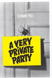Very Private Party - 11 x 17 Movie Poster - Style A
