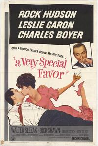 A Very Special Favor - 27 x 40 Movie Poster - Style A