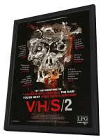 V/H/S 2 - 27 x 40 Movie Poster - Style A - in Deluxe Wood Frame