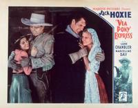 Via Pony Express - 11 x 14 Movie Poster - Style A