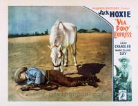 Via Pony Express - 11 x 14 Movie Poster - Style B