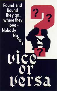 Vice Or Versa - 27 x 40 Movie Poster - Style A