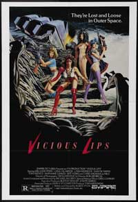 Vicious Lips - 11 x 17 Movie Poster - Style A