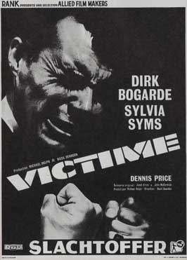 Victim - 11 x 17 Movie Poster - Belgian Style A