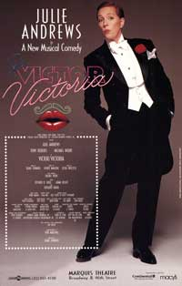 Victor Victoria (Broadway) - 27 x 40 Poster - Style A