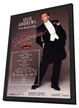 Victor Victoria (Broadway) - 11 x 17 Poster - Style A - in Deluxe Wood Frame
