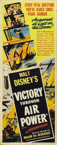Victory Through Air Power - 14 x 36 Movie Poster - Insert Style A