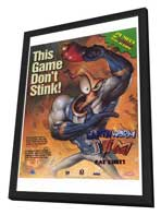 Video Game - Earthworm Jim - 27 x 40 Movie Poster - Style A - in Deluxe Wood Frame