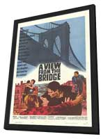 View From the Bridge - 11 x 17 Movie Poster - Style A - in Deluxe Wood Frame