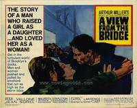 View From the Bridge - 22 x 28 Movie Poster - Half Sheet Style A