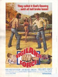 Vigilante Force - 11 x 17 Movie Poster - Style B