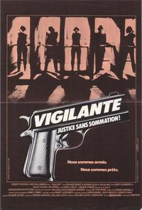 Vigilante - 27 x 40 Movie Poster - French Style A