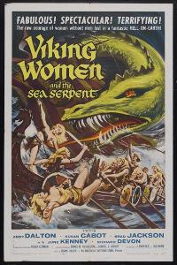 Viking Women and the Sea Serpent - 43 x 62 Movie Poster - Bus Shelter Style A