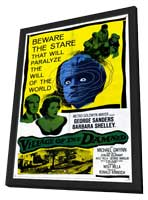 Village of the Damned - 11 x 17 Movie Poster - Style A - in Deluxe Wood Frame