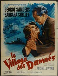Village of the Damned - 27 x 40 Movie Poster - French Style A