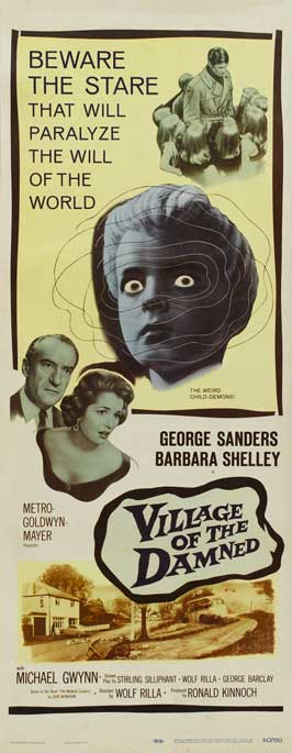 Village of the Damned - 14 x 36 Movie Poster - Insert Style A