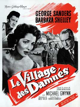 Village of the Damned - 11 x 17 Movie Poster - French Style B