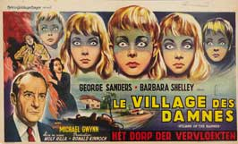 Village of the Damned - 20 x 40 Movie Poster - Belgian Style A