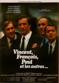 Vincent, Fran�ois, Paul and the Others - 11 x 17 Movie Poster - French Style A