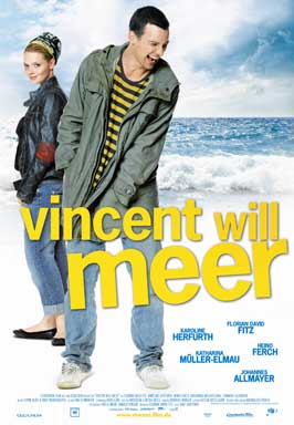 Vincent Wants to Sea - 27 x 40 Movie Poster - Swiss Style A