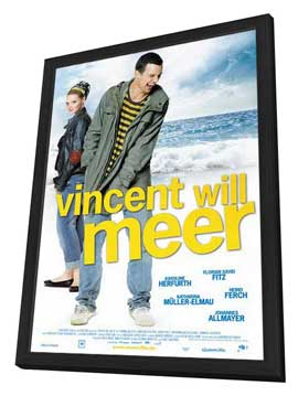 Vincent Wants to Sea - 27 x 40 Movie Poster - Swiss Style A - in Deluxe Wood Frame
