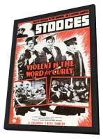 Violent is the Word For - 11 x 17 Movie Poster - Style A - in Deluxe Wood Frame