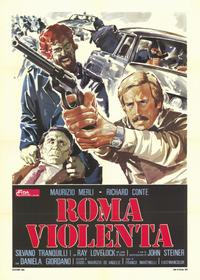 Violent Rome - 11 x 17 Movie Poster - Italian Style A