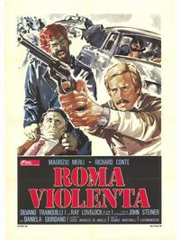 Violent Rome - 27 x 40 Movie Poster - Italian Style A