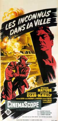 Violent Saturday - 14 x 36 Movie Poster - French Style A