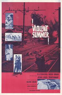 Violent Summer - 27 x 40 Movie Poster - Style A