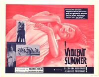 Violent Summer - 27 x 40 Movie Poster - Style B