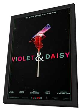 Violet & Daisy - 11 x 17 Movie Poster - Style A - in Deluxe Wood Frame