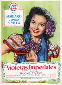 Violetas imperiales - 43 x 62 Movie Poster - Spanish Style A