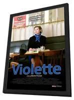 Violette - 27 x 40 Movie Poster - Style A - in Deluxe Wood Frame