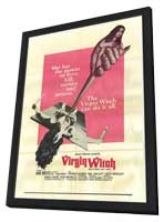 Virgin Witch - 11 x 17 Movie Poster - Style A - in Deluxe Wood Frame