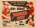 Virginia City - 22 x 28 Movie Poster - Half Sheet Style A