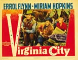 Virginia City - 11 x 14 Movie Poster - Style C