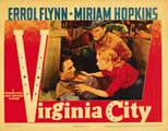 Virginia City - 11 x 14 Movie Poster - Style D