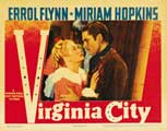 Virginia City - 11 x 14 Movie Poster - Style E