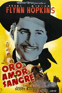 Virginia City - 11 x 17 Movie Poster - Spanish Style A