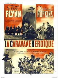 Virginia City - 11 x 17 Movie Poster - French Style B