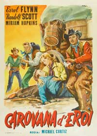 Virginia City - 27 x 40 Movie Poster - Italian Style B