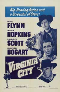Virginia City - 11 x 17 Movie Poster - Style B